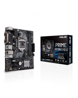 Asus PRIME H310M-D R2.0 Processor family Intel, Processor socket LGA1151, DDR4, Memory slots 2, Chipset Intel H, Micro ATX