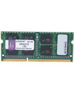 Kingston 8 GB, DDR3, 1600 MHz, Notebook, Registered No, ECC No