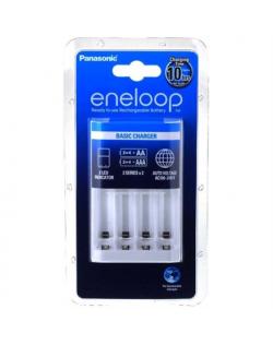 Panasonic eneloop Basic battery charger 2 or 4 AA/AAA