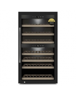 Caso Smart Wine Cooler WineExclusive 66 Energy efficiency class G, Free standing, Bottles capacity Up to 66 bottles, Cooling typ
