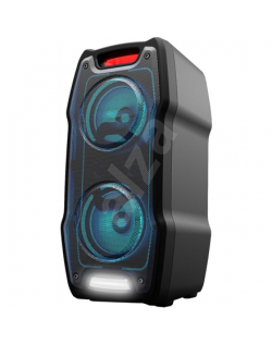 Sharp PS-929 Party Speaker 180 W, With Built-in Battery, DJ Mixer, 13 h Playtime, TWS, USB, Karaoke Function, LED, Bluetooth