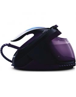 Philips Iron GC9650/80 Steam Iron, 2400 W, Water tank capacity 1800 ml, Continuous steam 40 g/min, Purple