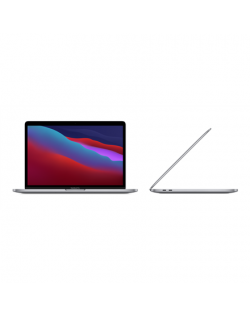 "Apple MacBook Pro Space Grey, 13.3 "", IPS, 2560 x 1600, Apple M1, 8 GB, SSD 512 GB, Apple M1 8-core GPU, Without ODD, macOS, 802"