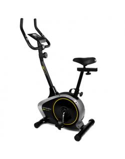 Spokey EDO+ Upright magnetic bike, 88 x 47 x 137 cm, Magnetic 8-level tension, 120 kg, Grey