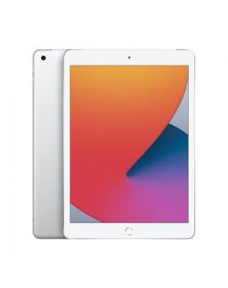 "Apple 8th Gen (2020) iPad Wi-Fi + Cellular 10.2 "", Silver, Retina touch screen with IPS, Apple A12 Bionic, 3 GB, 32 GB, 4G, Wi-F"