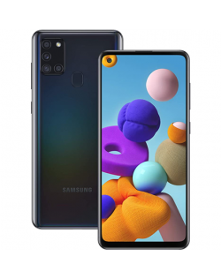"Samsung Galaxy A21s A217 Black, 6.5 "", PLS TFT, 720 x 1600, Exynos 850, Internal RAM 3 GB, 64 GB, MicroSDXC, Dual SIM, Nano-SIM,"