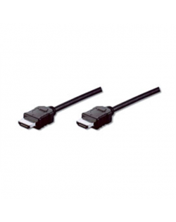 Logilink HDMI A male - HDMI A male, 1.4v 10 m, Black, connection cable