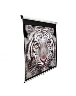 "Elite Screens Manual Series M80NWV Diagonal 80 "", 4:3, Viewable screen width (W) 163 cm, White"