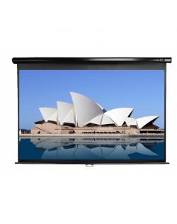 "Elite Screens Manual Series M92UWH Diagonal 92 "", 16:9, Viewable screen width (W) 204 cm, Black"