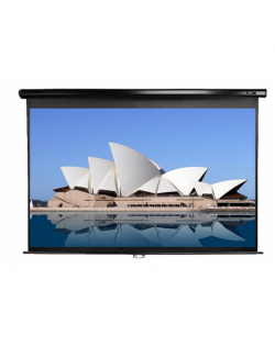 "Elite Screens Manual Series M100UWH Diagonal 100 "", 16:9, Viewable screen width (W) 221 cm, Black"