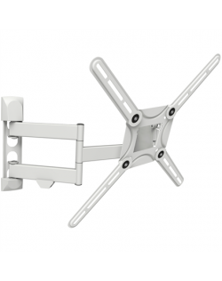 """Barkan Flat/ Curved TV Wall Mount 3400 Wall Mount, Full motion, 29-65 """", Maximum weight (capacity) 40 kg, White"""