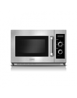 Caso Microwave oven C1800M Free standing, 34 L, 1800 W, Stainless steel