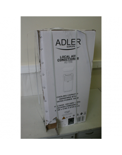 SALE OUT. Adler AD 7916 Air conditioner 9000 BTU, Free standing, 3 modes of operation: cooling, fan, drying, White, DAMAGED PACK