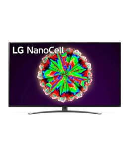 "LG 65NANO813NA 65"" (164 cm), Smart TV, WebOS, 4K UHD Nanocell, 3840 x 2160, Wi-Fi, DVB-T2/C/S2, Black"