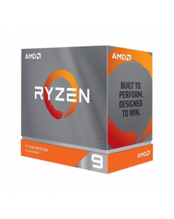AMD Ryzen 9 3900XT, 3.8 GHz, AM4, Processor threads 24, Processor cores 12, 105 W, Component for PC