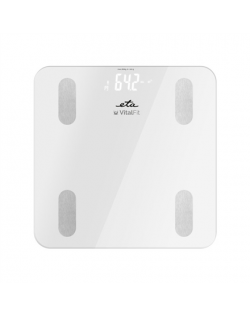 ETA Personal Scale Vital Fit ETA678190000 Body analyzer, Maximum weight (capacity) 180 kg, Accuracy 100 g, Body Mass Index (BMI)