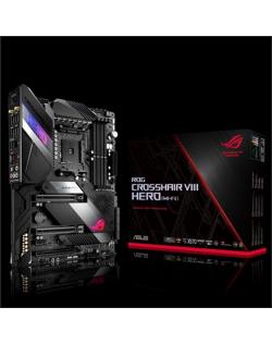 Asus ROG CROSSHAIR VIII HERO (WIFI) Processor family AMD, Processor socket AM4, DDR4, Memory slots 4, Chipset AMD X, ATX