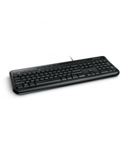 Microsoft ANB-00021 Wired Keyboard 600 Multimedia, Wired, Keyboard layout EN, 2 m, Black, English, 595 g