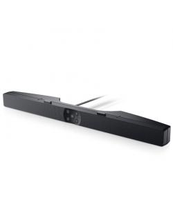 Dell Professional Soundbar Skype for Business AE515M Speaker type Active, Mini-phone stereo 3.5 mm USB 2.0, Black, 5 W