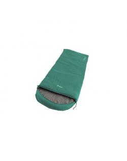 Outwell Campion, Sleeping Bag, 215 x 80 cm, 2 way open - auto lock, L-shape, Green