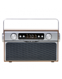 Camry Bluetooth Radio CR 1183 16 W, AUX in, Wooden