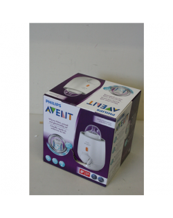 SALE OUT. Philips Fast baby bottle warmer Avent SCF355/00 White, DAMAGED PACKAGING