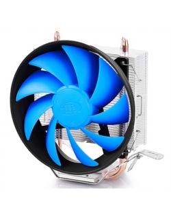 """Deepcool """"Gammaxx 200T"""" universal cooler, 2 heatpipes, 120mm PWM fan, Intel Socket LGA115X / 775, 95 W TDP and AMD Socket FMxx/A"""