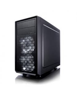 Fractal Design Focus G Mini Black Window Black, Micro ATX, Power supply included No