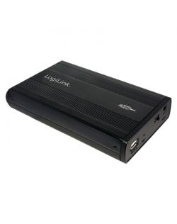 Logilink External HDD enclosure 3,5 inch IDE, USB 2.0 UA0066 Black