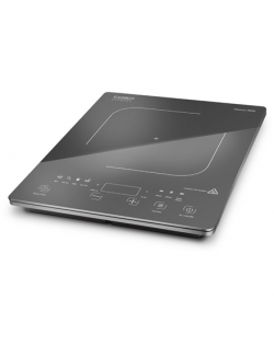 Caso Free standing table hob Various 2000 Number of burners/cooking zones 1, Sensor touch, Black, Induction