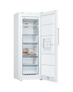 Bosch Freezer GSN29VW3P Upright, Height 161 cm, Total net capacity 200 L, A++, Freezer number of shelves/baskets 6, White, No Fr