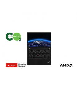 "Lenovo ThinkPad P14s (Gen 1) Black, 14.0 "", IPS, Touchscreen, Full HD, 1920 x 1080, Matt, AMD, Ryzen 7 PRO 4750U, 16 GB, SSD 512"