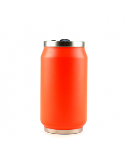 Yoko Design Isotherm Tin Can 280 ml, Fluo orange