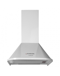 CATA Hood NEBLIA 500 WH Wall mounted, Energy efficiency class D, Width 50 cm, 645 m³/h, Mechanical control, Halogen, White