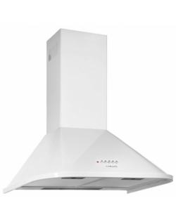 CATA Hood NEBLIA 600 WH Wall mounted, Energy efficiency class D, Width 60 cm, 645 m³/h, Mechanical control, Halogen, White