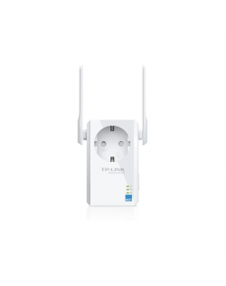 TP-LINK Extender with AC Passthrough TL-WA860RE 10/100 Mbit/s, Ethernet LAN (RJ-45) ports 1, 802.11n, 2.4GHz, Wi-Fi data rate (m
