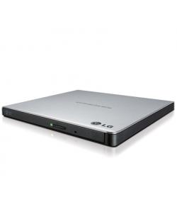 H.L Data Storage Ultra Slim Portable DVD-Writer GP57ES40 Interface USB 2.0, DVD±R/RW, CD read speed 24 x, CD write speed 24 x, S