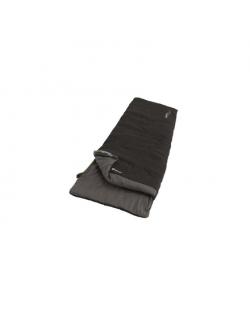 Outwell Celebration Lux, Sleeping Bag, 225 x 80 cm, 2 way open - auto lock, L-shape, Black