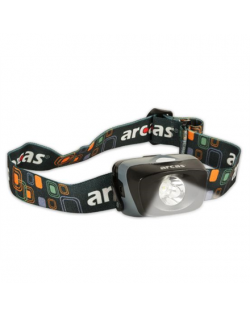 Arcas Headlight ARC1 LED, 1 W, 30-70 lm, 3 light functions
