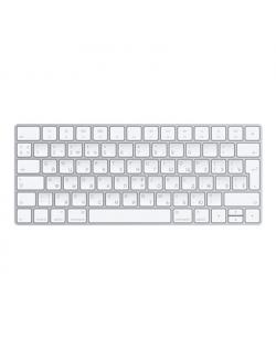 Apple Magic Keyboard Wireless, Russian, Scissor mechanism, Silver/White, Bluetooth