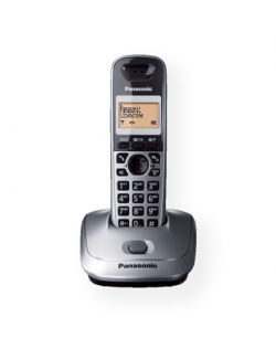 Panasonic KX-TG2511FXM Backlight buttons, Black, Caller ID, Wireless connection, Phonebook capacity 100 entries, Built-in displa