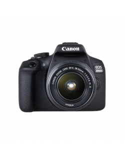 "Canon EOS 2000D 18-55 II EU26 SLR Camera Kit, Megapixel 24.1 MP, Image stabilizer, ISO 12800, Display diagonal 3.0 "", Wi-Fi, Vid"