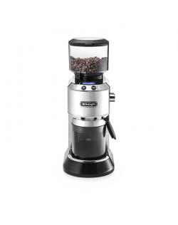 Delonghi Coffee Grinder KG521.M DEDICA Inox/ black, 150 W, 350 g, Number of cups 14 pc(s)