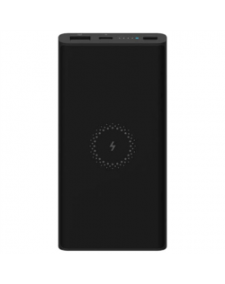 Xiaomi Power Bank Essential Mi Wireless 10000 mAh, Black