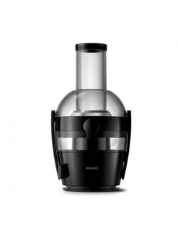 Philips Viva Collection Juicer HR1855/70 Black, 800 W, Number of speeds 1