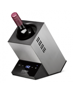 Caso Wine cooler for one bottle WineCase One Free standing, Bottles capacity 1, Inox