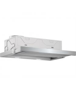 Hood Bosch DFM064A51 Telescopic, Energy efficiency class A, Width 60 cm, 420 m³/h, Mechanical control, Silver