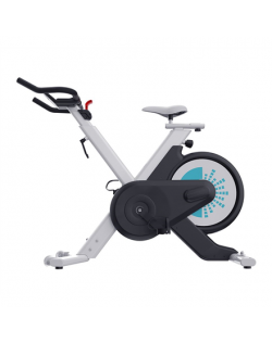 WNQ VENUS-B2 Home Use Intelligence Spin Bike, Magnetic, 100 kg, Black/White, LCD display