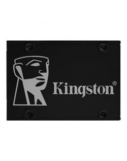 "Kingston KC600 256 GB, SSD form factor 2.5"", SSD interface SATA, Write speed 500 MB/s, Read speed 550 MB/s"