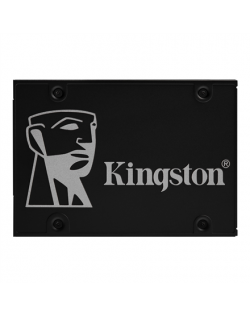 "Kingston KC600 512 GB, SSD form factor 2.5"", SSD interface SATA3, Write speed 520 MB/s, Read speed 550 MB/s"